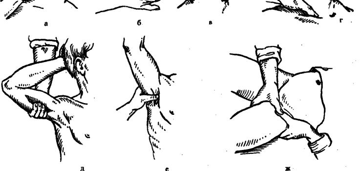 Ранение сосудов верхних конечностей